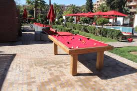 Outdoor Pool Tables by Contemporary Pool Table Outdoor Commercial Teck Billards