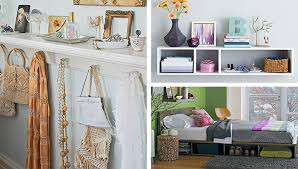 Over The Bed Bookshelf 9 Storage Ideas For Small Bedrooms