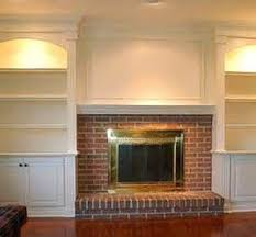 Fireplaces With Bookshelves by Built In Bookcases Around Brick Fireplace Bing Images For The