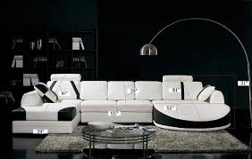 White Leather Sectional Sofa Amazon Com Vig Furniture T57b Ultra Modern Sectional Sofa