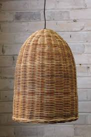 Wicker Pendant Light Wicker Pendant Light L Shade Shack Vintage