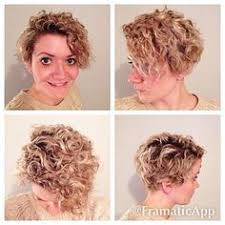 why is my hair curly in front and straight in back short curly hair pics to help you create a new look short curly
