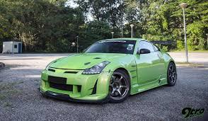nissan green nissan 350z fairlady go green 9tro
