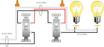 3 way switch wiring diagram with 2 lights gooddy org
