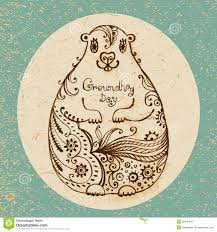groundhog day cards groundhog day vintage card royalty free stock