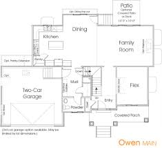 owen utah floor plan edge homes new house ideas pinterest