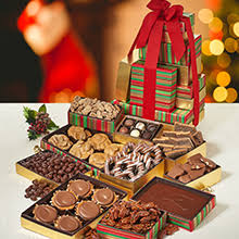 chocolate gift tower gourmet gift gift baskets towers