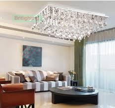 Crystal Flush Mount Ceiling Light Fixture by Living Room Ceiling Lamps Design For Comfort Bed Lights Crystal