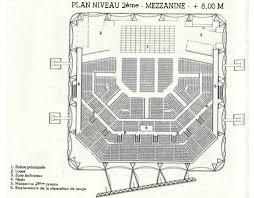 zenith plan salle plan niveau 2ème salle de spectacle le zénith chaix et morel