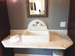 Large Pedestal Sinks Bathroom Spacious Master Bathroom Gilbert Construction Incorporated