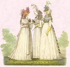 regency fashion history 1800 1825 beautiful pictures empire line