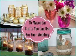 jar ideas for weddings 15 jar crafts you can use for your wedding diy inspired