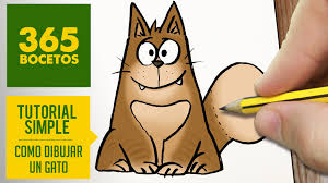imágenes de gatos fáciles para dibujar como dibujar un gato facil paso a paso a lapiz aprender a dibujar