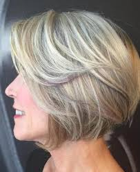 platinum hair on older women 90 classy and simple short hairstyles for women over 50
