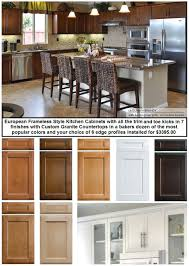 kitchen cabinets for sale european frameless cabinets
