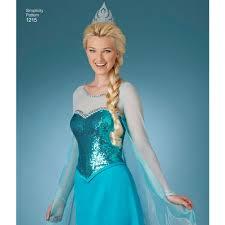 Simplicity Halloween Costumes Pattern Misses U0027 Frozen Costumes Simplicity