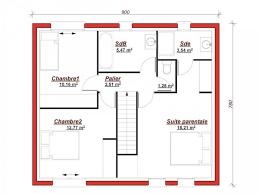 plan maison 4 chambres suite parentale plan maison 4 chambres avec suite parentale impressionnant 49 best