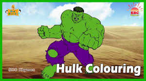 hulk colouring coloring pages for kids hulk coloring book