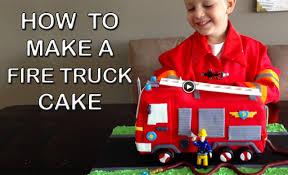 firetruck cake truck cake how to cook that engine birthday cake
