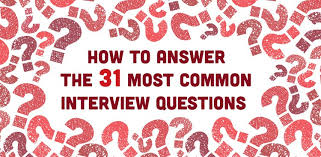 interview questions for marketing job career guidance how to answer the 31 most common interview