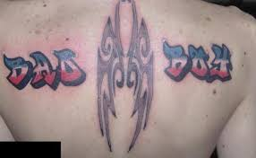 boy tribal tattoo