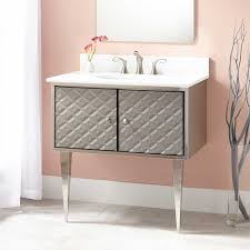 stainless steel vanities bathroom vanities signature hardware