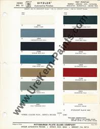 1967 pontiac gto car paint colors urekem paints