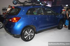 mitsubishi asx 2014 2015 mitsubishi asx rear three quarter at the campi 2014 indian