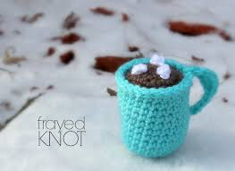 mug ornament i m frayed knot hot cocoa mug ornament