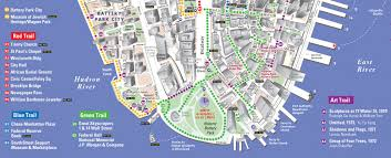 downtown manhattan map vandam clients j m kaplan fund heritage trails ny by vandam