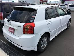 toyota co 2005 toyota corolla runx x aero tourer used car for sale at