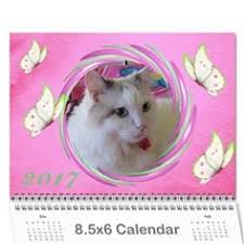 happy pink 2017 any year calendar wall calendar 11