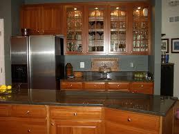 yorktowne avondale cherry honey cabinets impala black granite