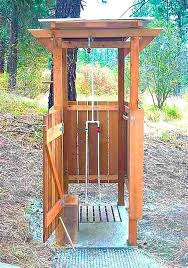 Outdoor Shower Cubicle - best 25 portable outdoor shower ideas on pinterest portable