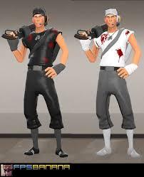 Team Fortress 2 Halloween Costumes Biohazard Player Pack Team Fortress 2 U003e Skins U003e Packs Gamebanana