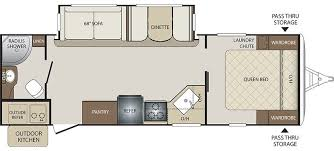 20 Foot Travel Trailer Floor Plans Premier