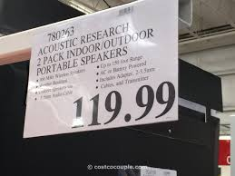 acoustic research indoor outdoor portable speakers