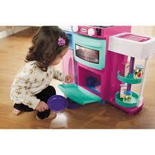 little tikes cook u0027n store kitchen pink walmart com