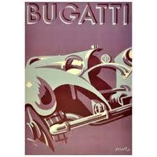 french vintage car delahaye bugatti advertising calendar wall