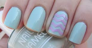 65 most stylish light blue nail art designs baby blue coffin
