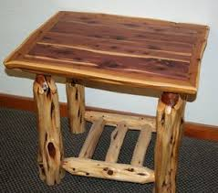 shop log nightstands u2014 barn wood furniture rustic barnwood and
