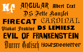 halloween font free