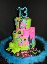 cake designs for a 13 year old ideas of birthday cake