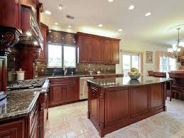 Cherry Kitchen Cabinets Cherry Wood Kitchen Cabinets With Glass