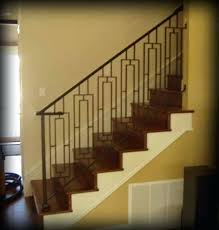 stair rail kit railing kits indoor wrought iron interior