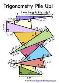 online geometry class for high school credit trigonometry pile up activity for advanced students