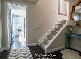 painted basement stairs trend with image of plans free at ideas