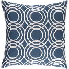 Navy Blue Decorative Pillows Modern Blue Throw Pillows Zinc Door