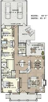 what is open floor plan narrow house with possible open floor plan for the home