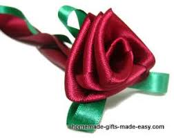 ribbon flowers how to make ribbon flowers roses tutorial